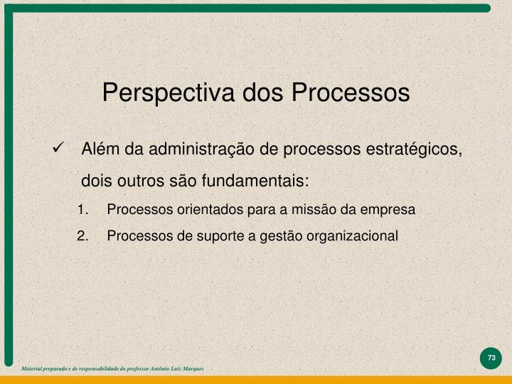 Perspectiva dos Processos