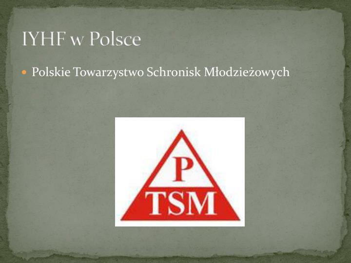 IYHF w Polsce
