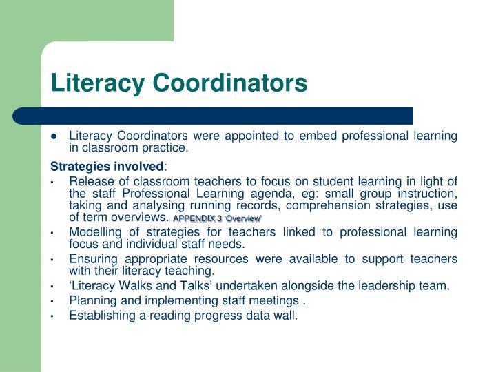 Literacy Coordinators