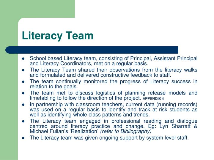 Literacy Team