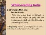 while reading tasks1