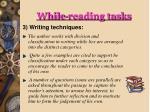 while reading tasks4