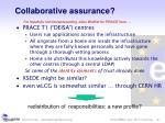 collaborative assurance