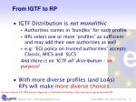 from igtf to rp
