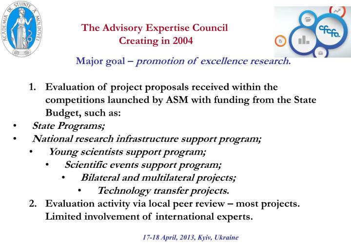 The Advisory Expertise Council