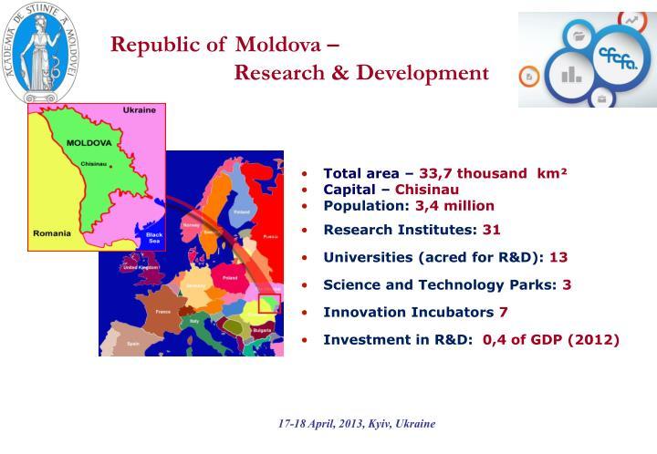 Republic of Moldova –