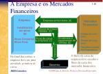 a empresa e os mercados financeiros
