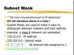subnet mask1