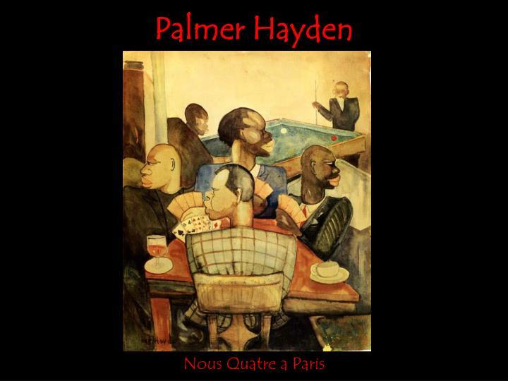 Palmer Hayden
