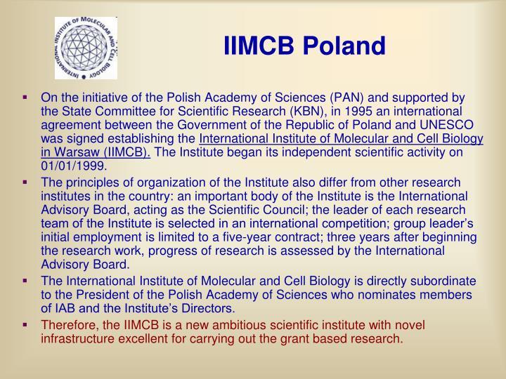 IIMCB Poland