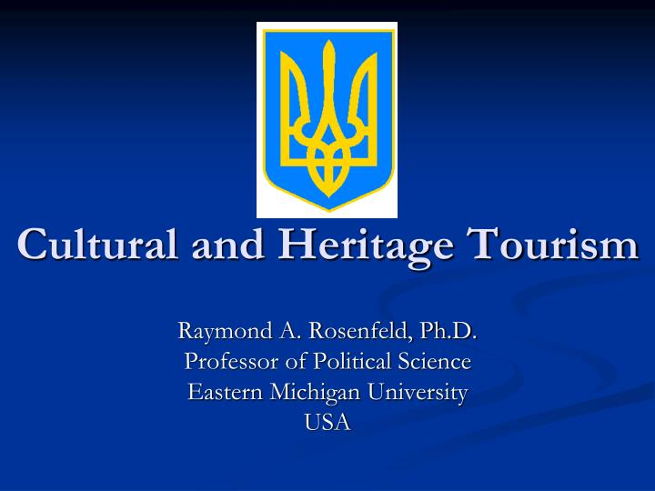 Cultural and heritage tourism