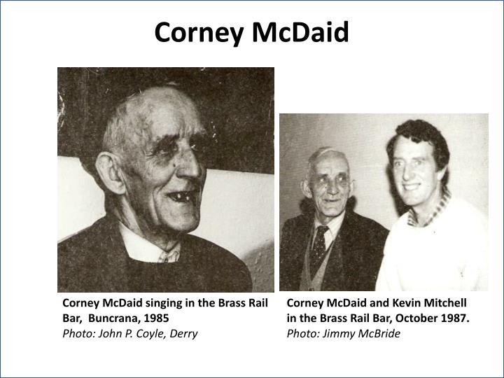 Corney McDaid