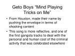 geto boys mind playing tricks on me