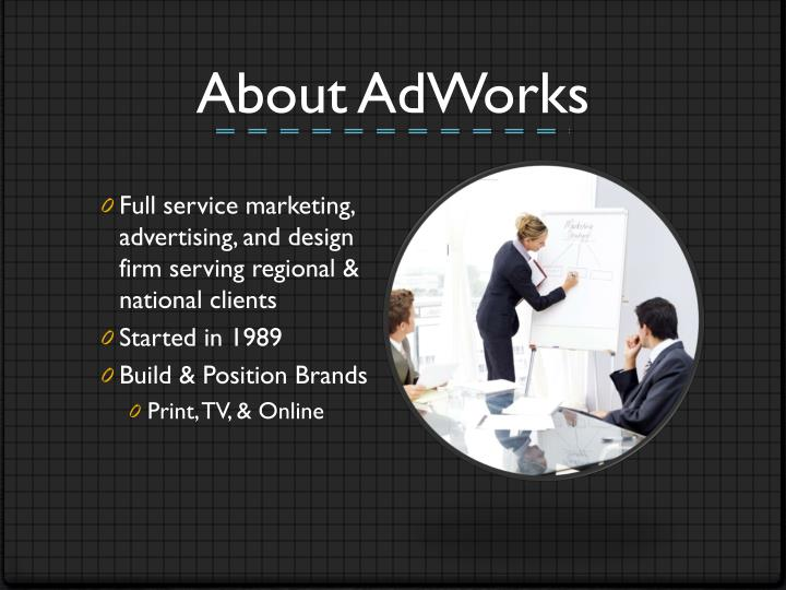 About AdWorks