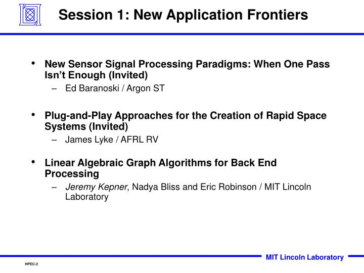 Session 1 new application frontiers1