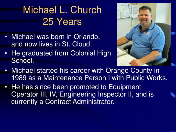 Michael L. Church