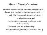 g rard genette s system