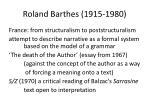 roland barthes 1915 1980