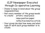 clip newspaper executed through co operative learning3