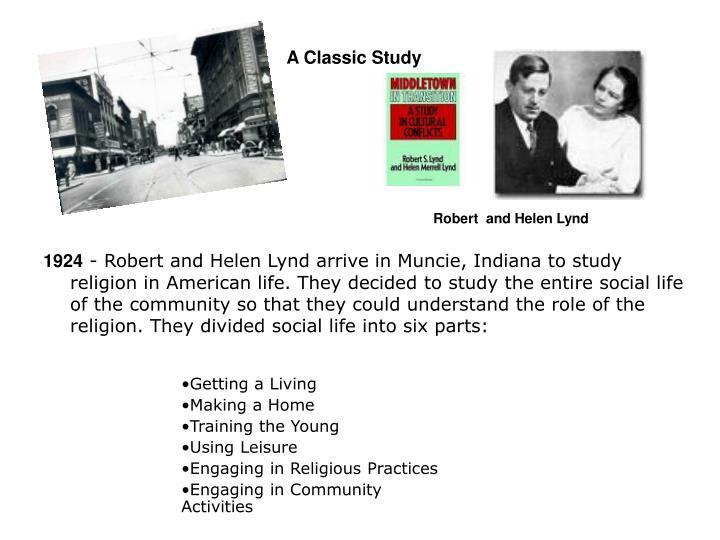 A Classic Study