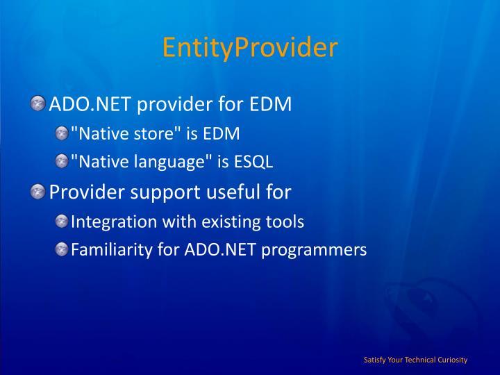 EntityProvider
