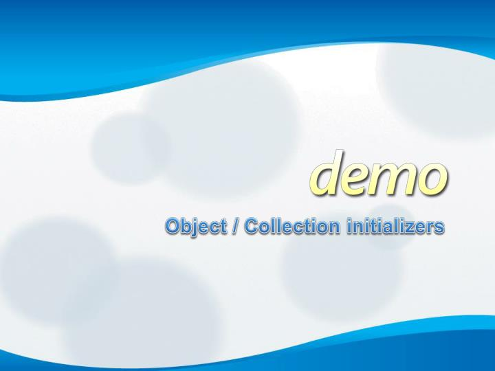 Object / Collection