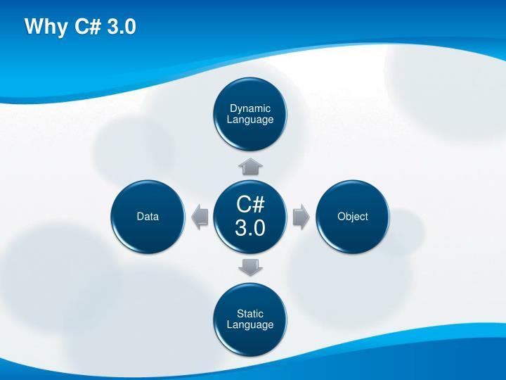 Why C# 3.0