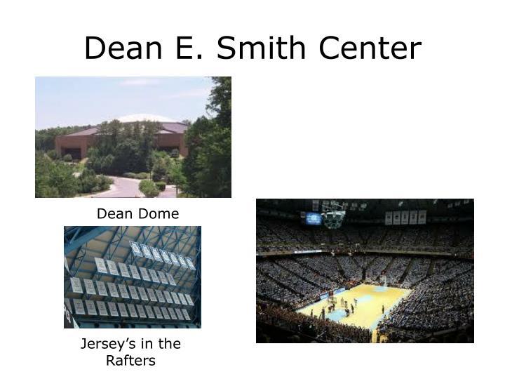 Dean e smith center