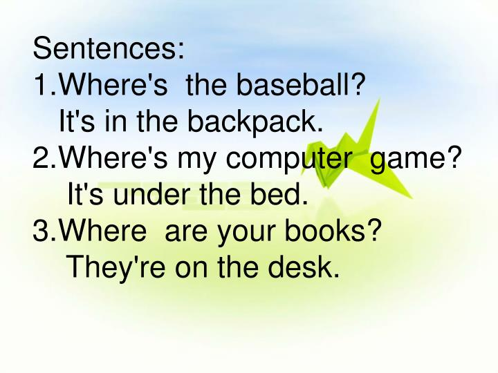 Sentences: