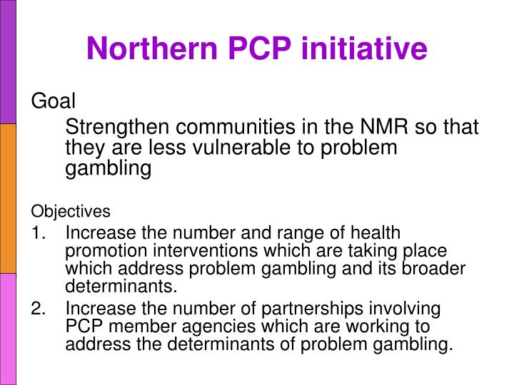Northern PCP initiative