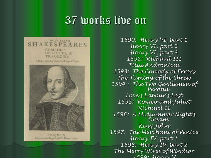 37 works live on