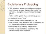 evolutionary prototyping1