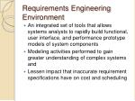 requirements engineering environment1