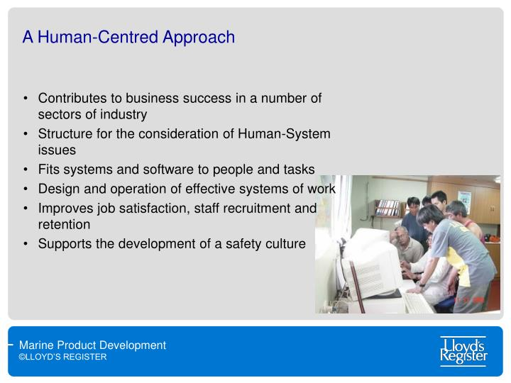 A Human-Centred Approach