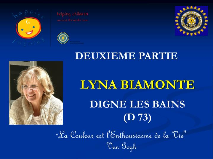 Lyna biamonte