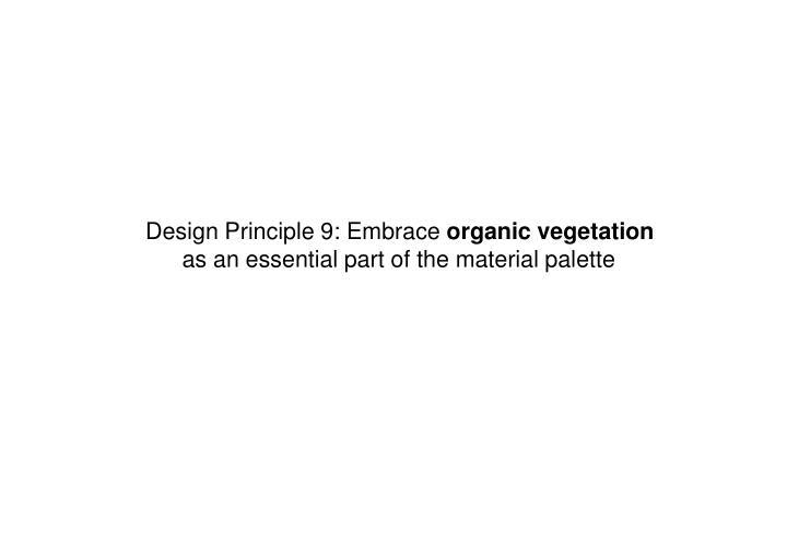 Design Principle 9: Embrace