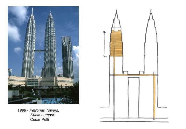 1998 - Petronas Towers,