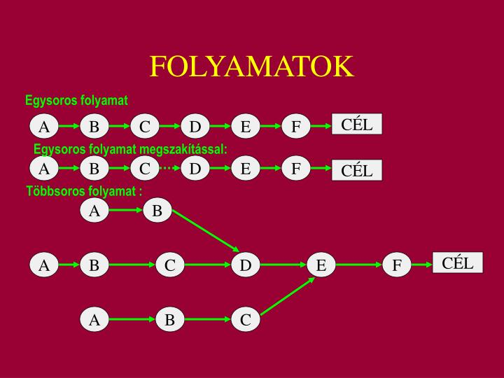 FOLYAMATOK