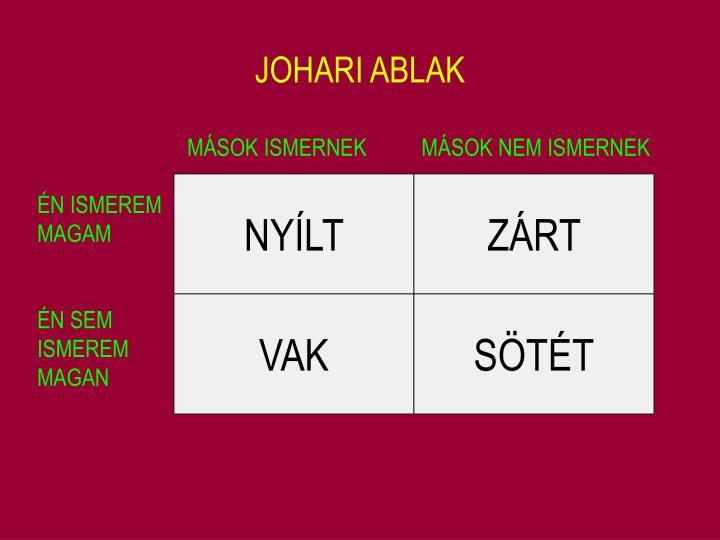 JOHARI ABLAK