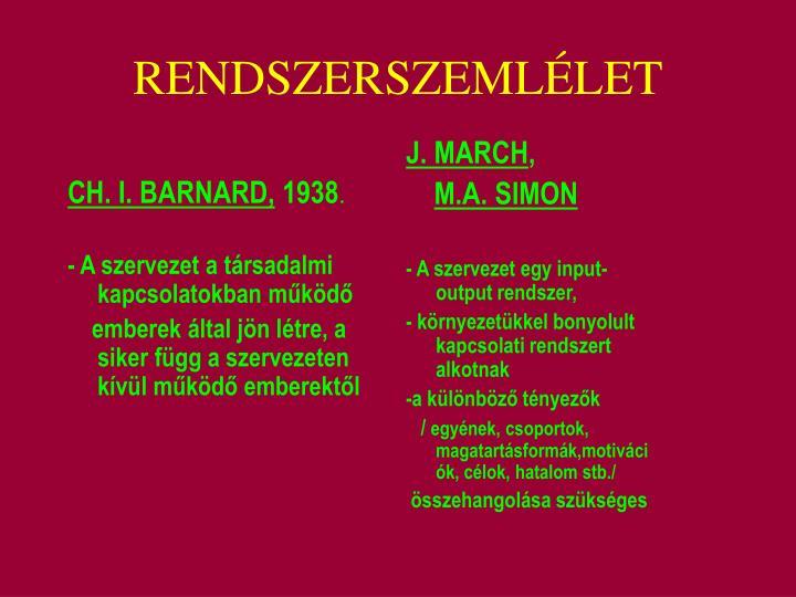 CH. I. BARNARD,