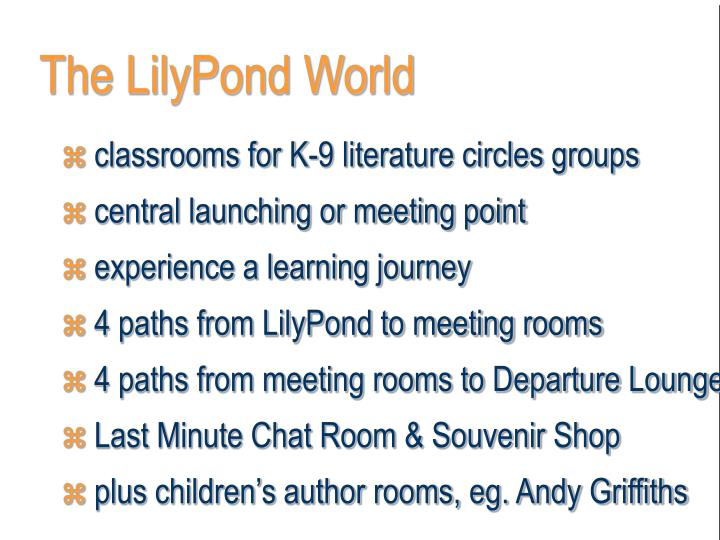 The LilyPond World