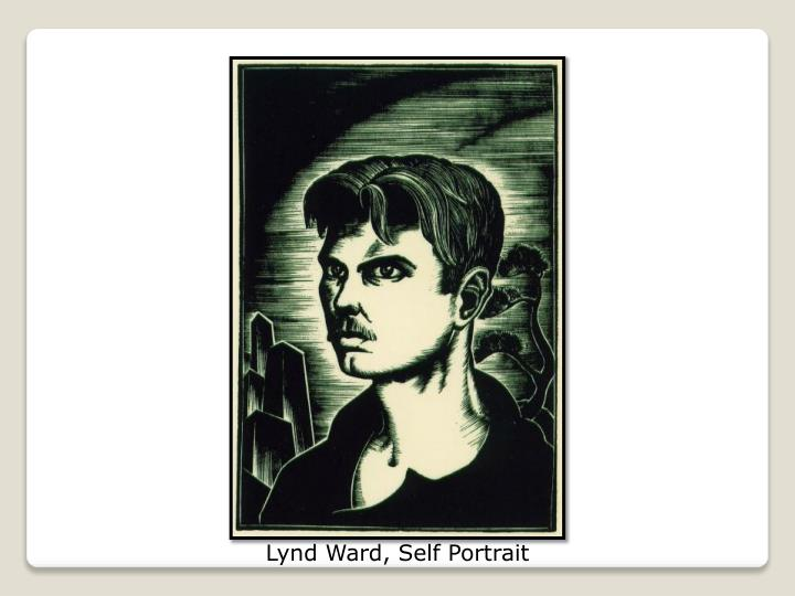 Lynd Ward, Self Portrait