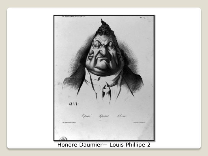 Honore Daumier-- Louis Phillipe 2