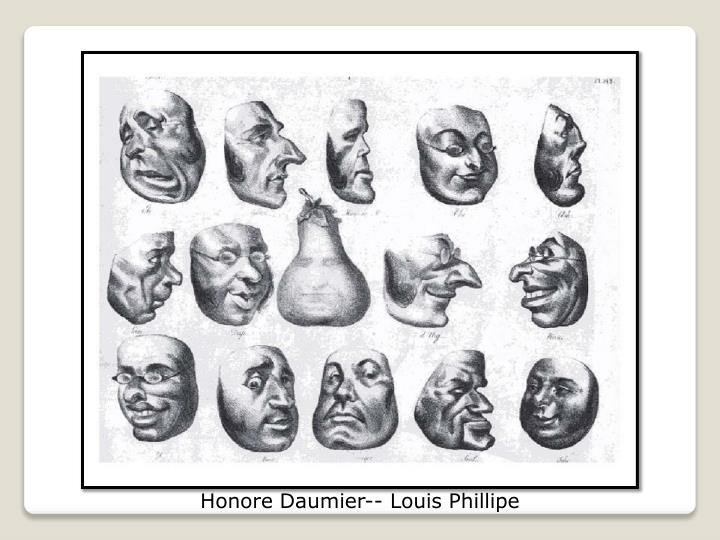 Honore Daumier-- Louis Phillipe