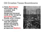 oil creates texas boomtowns
