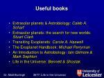 useful books