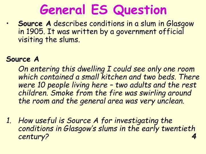 General ES Question