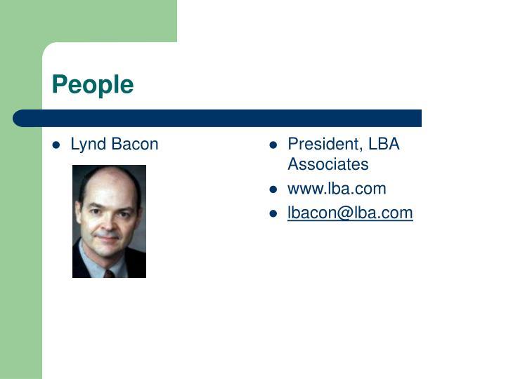 Lynd Bacon