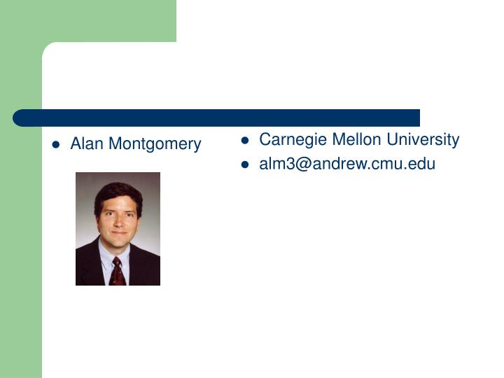 Alan Montgomery