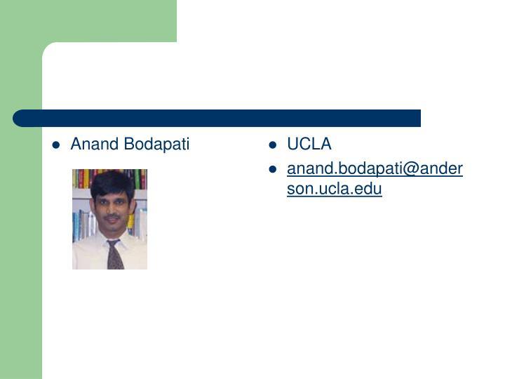 Anand Bodapati